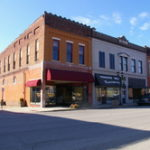 Historic downtown Princeton, Kentucky