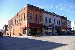 Historic downtown Princeton, Kentucky