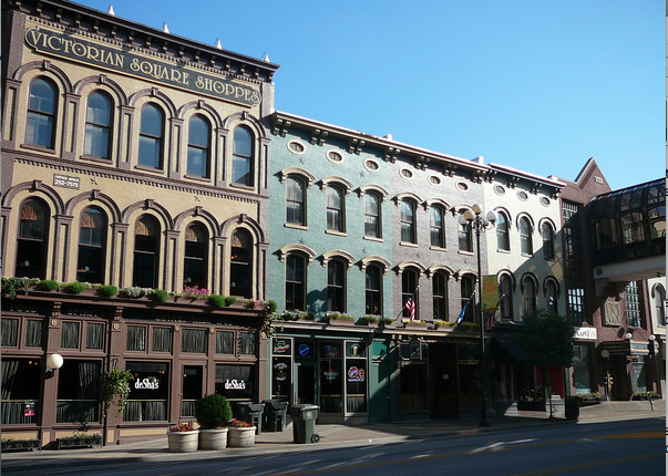Lexington historic downtown